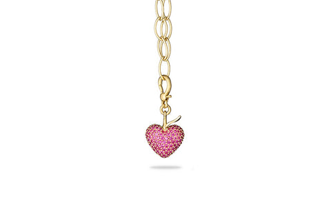 Heart Berry Charm