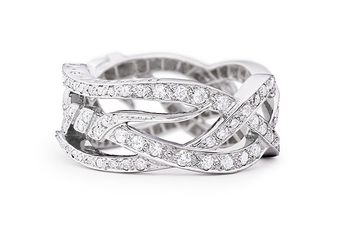 DIAMOND NOUVEAU BAND RING