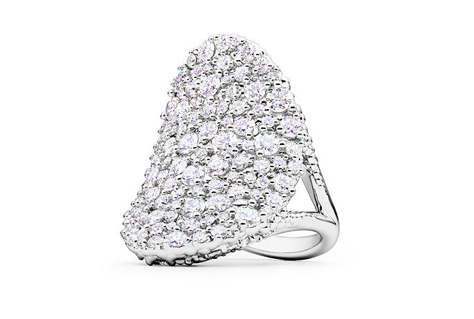 CONFETTI SADDLE RING