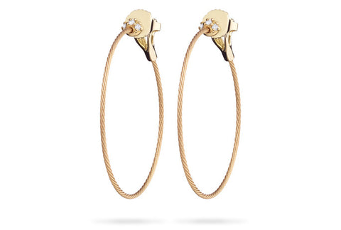 UNITY THIN HOOP EARRINGS SMALL
