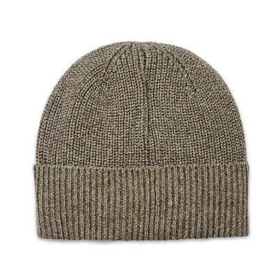 Tilley HT5008 Marled Cotton Toque in Brown/Oatmeal