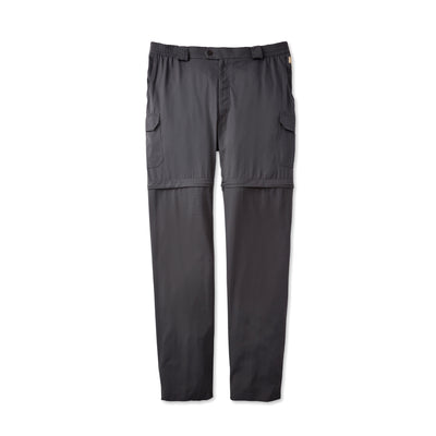 Tilley MA31 Legends Zip-Off Pant in Charcoal