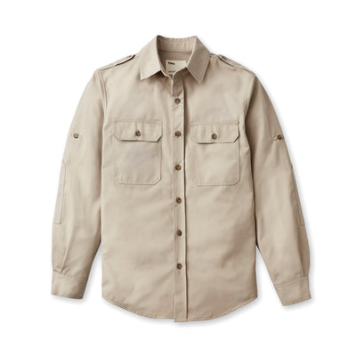 Tilley Heritage Long Sleeve Shirt in Khaki