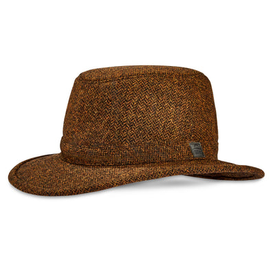 Tilley Tec Wool Hat in Rust Herringbone