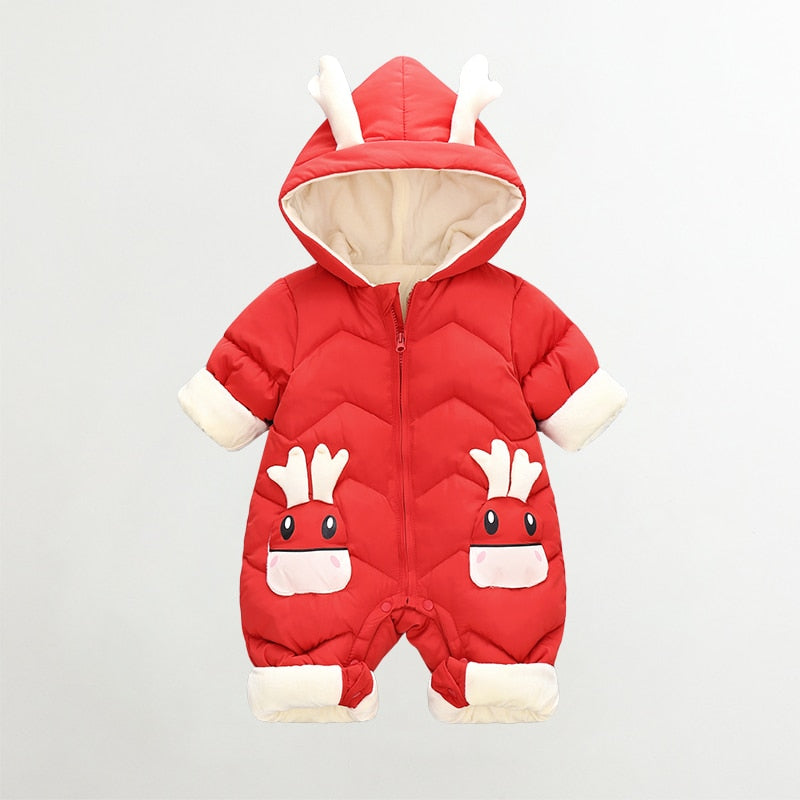 Little Deer Winter Jumpsuit