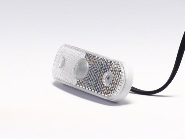 LED position light curved white