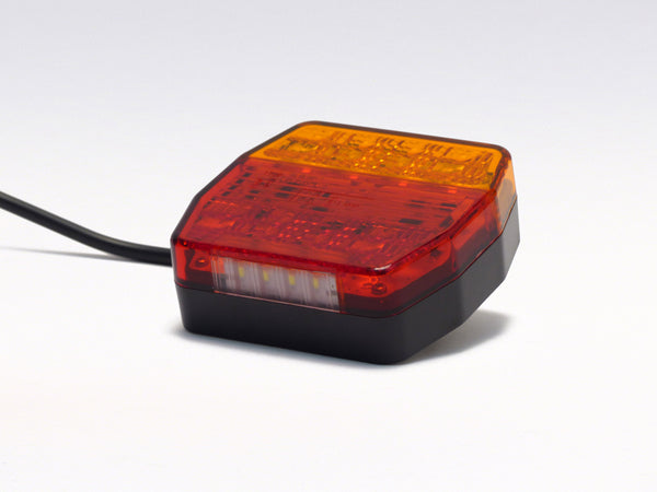 LED multifunctional light AGRI with licence plate lighting
