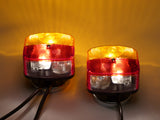 Trailer lighting set magnetic including lights BBS95