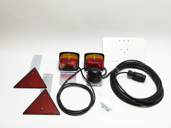 Trailer lighting set including lights BBS95
