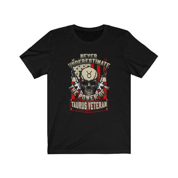 Taurus Veteran - Short Sleeve T-Shirt