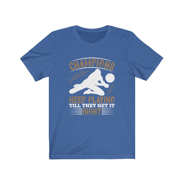 Volleyball Champions - Short Sleeve T-Shirt