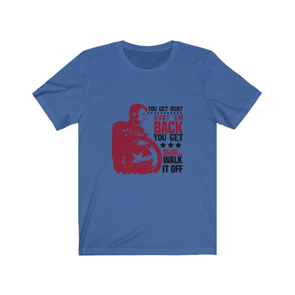 Captain America Walk It Off - Short Sleeve T-Shirt