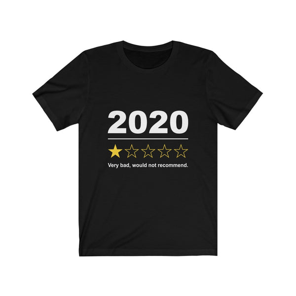 2020 One Star Review - Short Sleeve T-Shirt