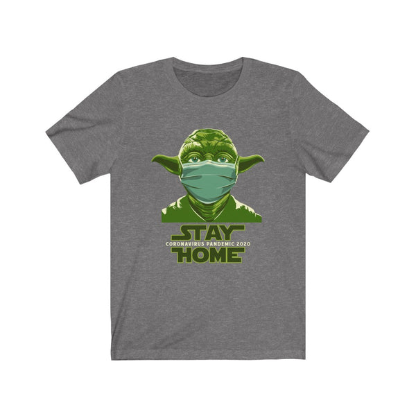 Yoda Stay Home - Short Sleeve T-Shirt