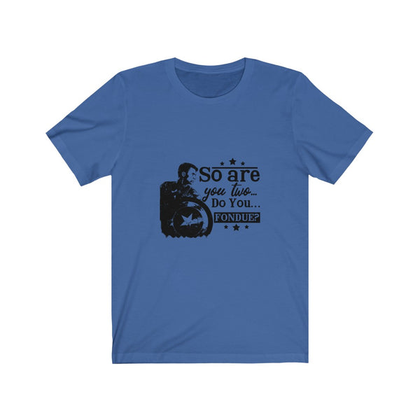 Captain America Do You Fondue? - Short Sleeve T-Shirt