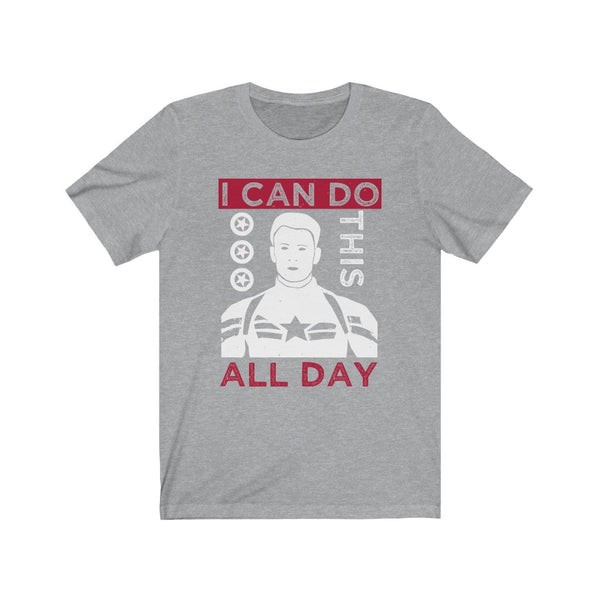 Captain America I Can do this All Day - Short Sleeve T-Shirt