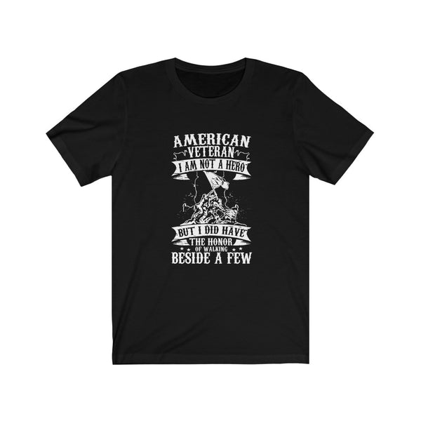 American Veteran Hero - Short Sleeve T-Shirt