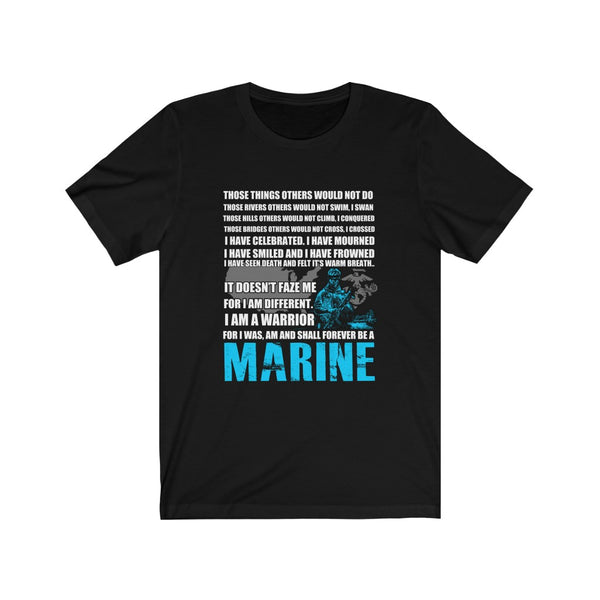 Marine Warrior - Short Sleeve T-Shirt