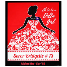 Load image into Gallery viewer, DELTA GIRL Keepsake Blanket