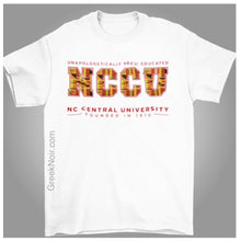 Load image into Gallery viewer, NCCU Kente - Tshirt