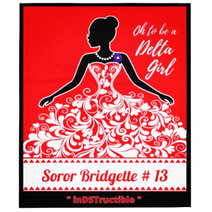DELTA GIRL Keepsake Blanket