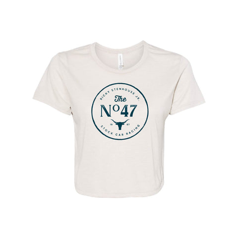 Ladies Vintage No. 47 Livery Cropped Tee