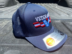 Blue Snap Back with Color Logo