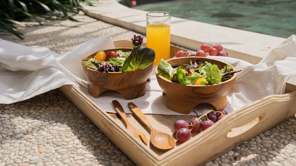 Benefits Of Using A Wooden Salad Bowl