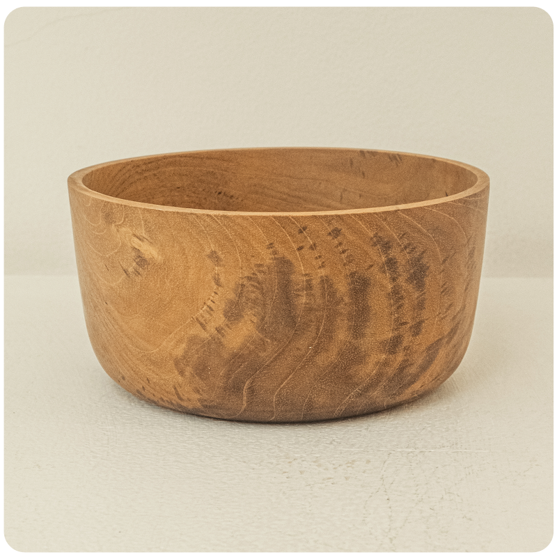 Berani Teak Wood Bowl