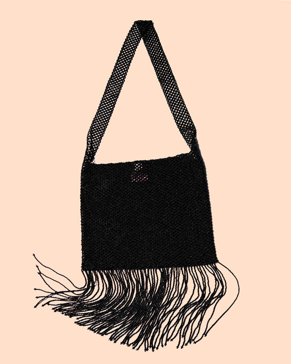 Porduct picture of the Marmaclub Crossover Fringe black