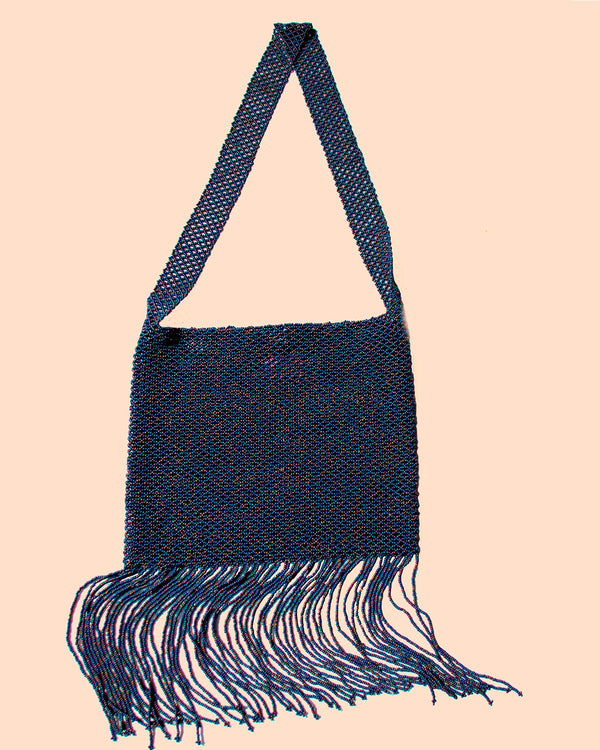 Crossover Fringe Oily Blue