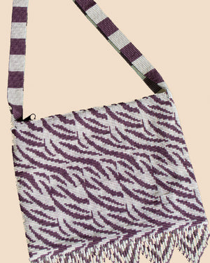Crossover Large Zebra Purple