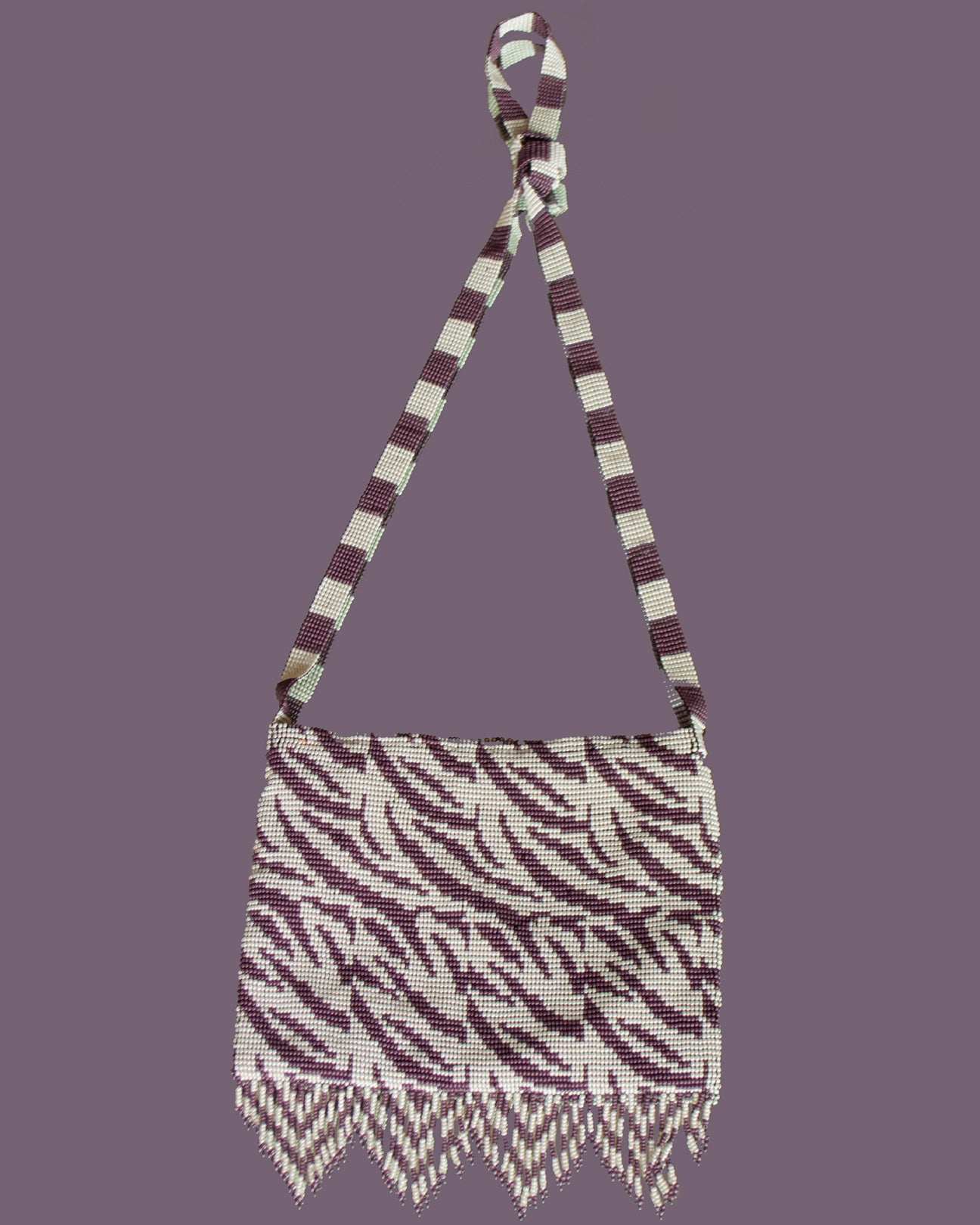 Crossover Small Zebra Purple