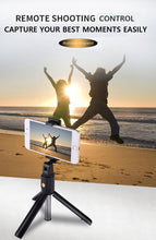 Load image into Gallery viewer, Selfie Stick Tripod for iPhone Android Phone with Bluetooth Remote (Slim Version)-Tripod Selfie Stick-white-COOL FUN TECH