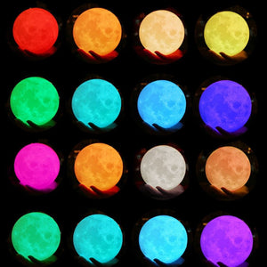 Custom 3D Moon Lamp-Custom Moon Lamp-10CM-COOL FUN TECH