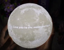 Load image into Gallery viewer, Custom 3D Moon Lamp-Custom Moon Lamp-10CM-COOL FUN TECH