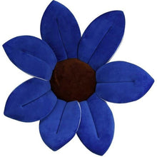 Load image into Gallery viewer, Sunflower Baby Bath Mat-Sunflower Baby Bath Mat-Blue-COOL FUN TECH