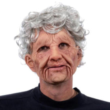 Load image into Gallery viewer, Halloween Costumes Creepy Old Man Woman Skin Mask-Special Effect Costumes-Grandma-COOL FUN TECH