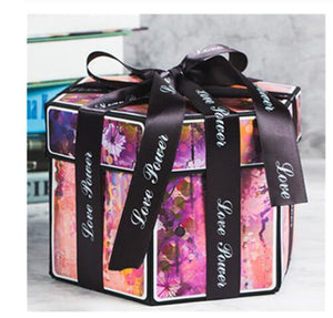 D.I.Y Explosion Photo Story GIFT Box-Surprise DIY Gift Box-H-COOL FUN TECH