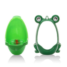 Load image into Gallery viewer, Cute Frog Toilet Potty Training Set For Boys-Baby Potty Toilet-Green-COOL FUN TECH