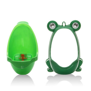 Cute Frog Toilet Potty Training Set For Boys-Baby Potty Toilet-Green-COOL FUN TECH