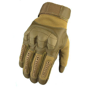 Tactical Gloves With Touch Screen Function-Touch Screen Gloves-Khaki-M-COOL FUN TECH