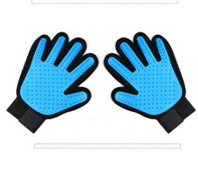 Load image into Gallery viewer, Pet Grooming Gloves With Gentle Deshedding Brush For Cat Dog Bath or Hair Removal-Pet Grooming Glove-1 x right hand-Skyblue-COOL FUN TECH