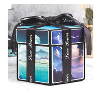 Load image into Gallery viewer, D.I.Y Explosion Photo Story GIFT Box-Surprise DIY Gift Box-F-COOL FUN TECH