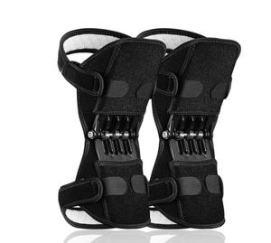 Knee Brace with Breathable Pads & Booster Spring Support-Knee Brace-2pcs-COOL FUN TECH