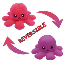 Load image into Gallery viewer, Cute Flip-Mood Octopus Plush Toy-Flip Mood Octopus Plush Toy-Purple rose-10x20cm-COOL FUN TECH