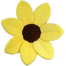 Load image into Gallery viewer, Sunflower Baby Bath Mat-Sunflower Baby Bath Mat-Yellow-COOL FUN TECH