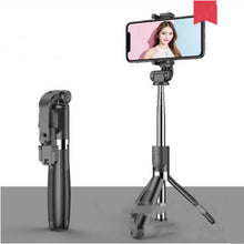 Load image into Gallery viewer, Selfie Stick Tripod for iPhone Android Phone with Bluetooth Remote-Tripod Selfie Stick-Black-L01S-COOL FUN TECH