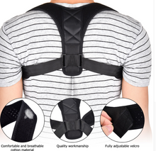 Load image into Gallery viewer, Adjustable Posture Corrector Brace Device for Men & Women-Posture Corrector Device-M-COOL FUN TECH