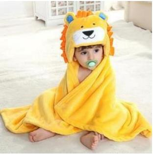 Cute Animal-Inspired Hooded Bath Towel Blankets For Baby-baby blanket-STYLE 2-COOL FUN TECH